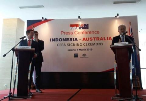 Perjanjian IA-CEPA Hapus 100% Tarif Indonesia