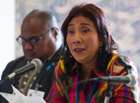 Menteri Susi Bahas Isu Pencurian Ikan pada Pertemuan Sherpa