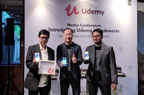 Udemy Resmikan Kehadirannya di Indonesia