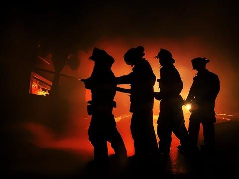 Kebakaran Pasar Blok A Hanguskan 380 Kios