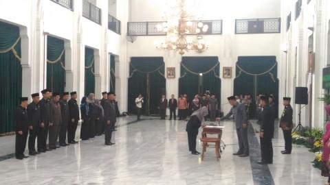 Ridwan Kamil Lantik 9 Kadis di Jabar
