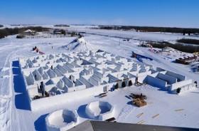 Labirin Salju di Kanada Pecahkan Rekor Dunia
