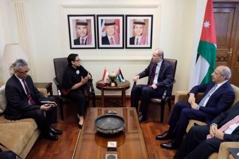 RI-Yordania Dorong Kerja Sama Perjuangan Palestina