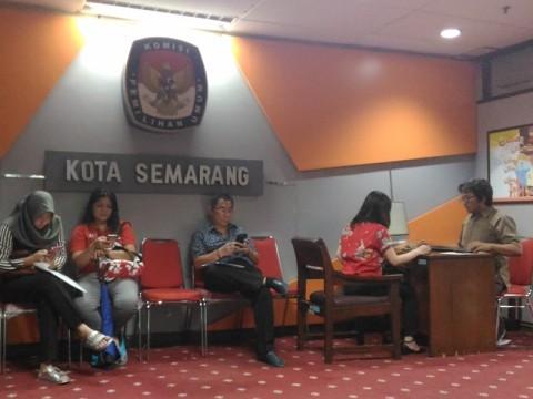 1% Persen Surat Suara Semarang Rusak