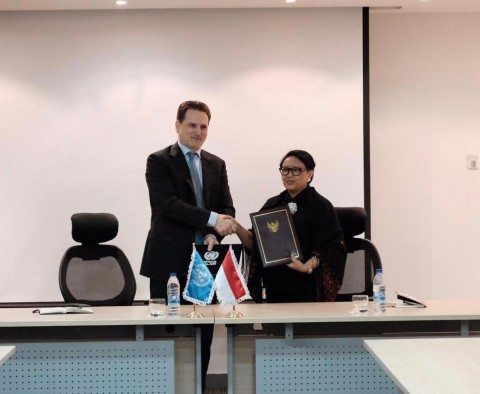RI Signs MoU on Humanitarian Contribution for Palestine Refugees
