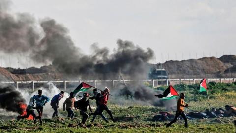 Israel Tembak Remaja Palestina di Jalur Gaza