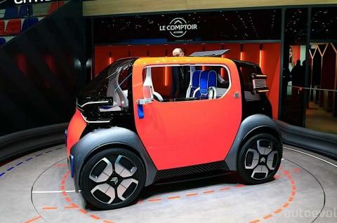 Citroen Ami One Concept Curi Perhatian di Geneva Motor Show