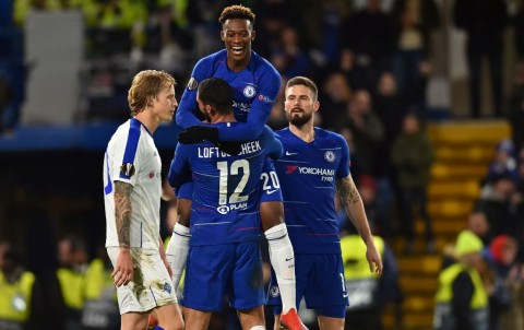 Bantai Dynamo Kiev, Chelsea Tapakkan Satu Kaki di Perempat Final