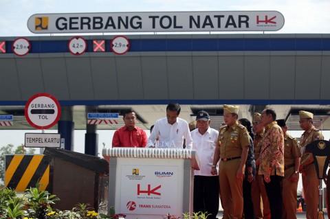TKN: Tol Trans Sumatera Tembus Kebuntuan