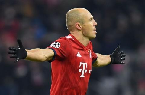 Robben Dipastikan Absen Kontra Liverpool