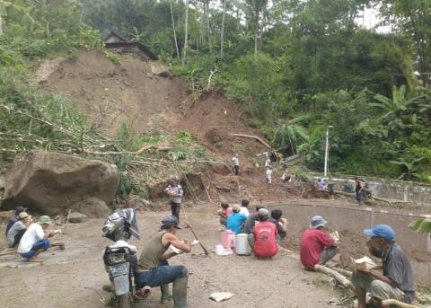 Pemkab Gunungkidul Siapkan Relokasi Tujuh Rumah di Zona Bencana
