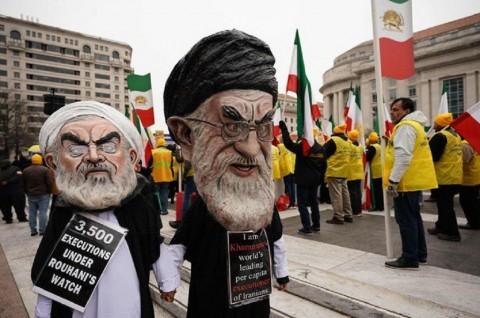 Warga Keturunan Iran-Amerika Serukan Ganti Rezim Teheran