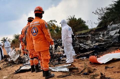 12 Orang Tewas Dalam Kecelakaan Pesawat di Kolombia
