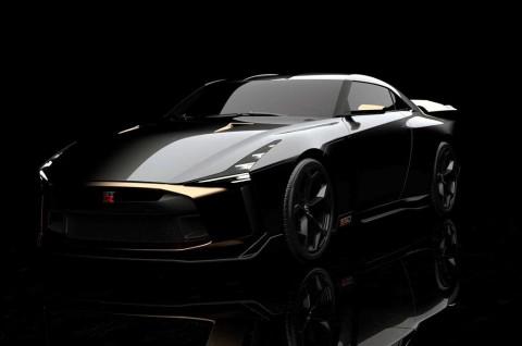 Nissan GT-R50 Garapan Italdesign Edisi Ultah