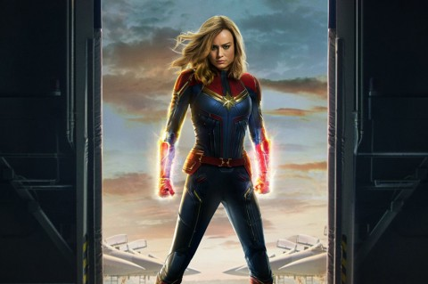 Captain Marvel Dominasi Box Office Dunia, Raup Rp6,5 Triliun