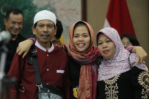 Siti Aisyah Ingin Bertemu Jokowi