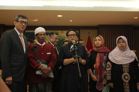 Yasonna Sebut Siti Aisyah Korban