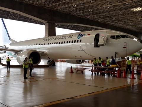Kemenhub Inspeksi Boeing 737 Max 8 di Soetta