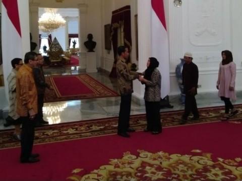 Presiden Minta Siti Aisyah Bercengkerama Bareng Keluarga