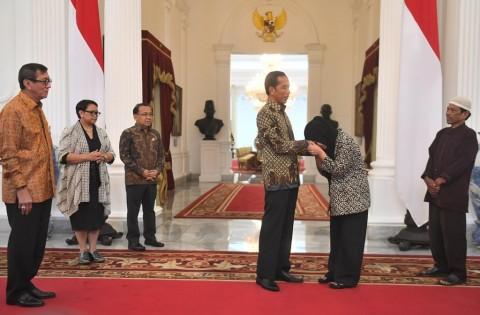Presiden Sarankan Siti Aisyah Menenangkan Diri