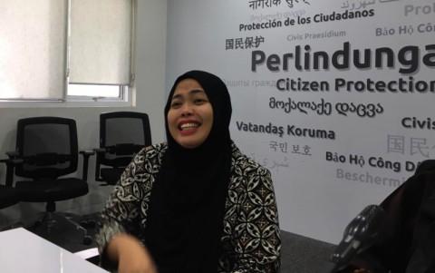 Siti Aisyah: Bapak Jokowi Minta Saya Lebih Hati-hati