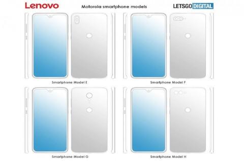 Ponsel Motorola akan Hadir Tanpa Bezel?