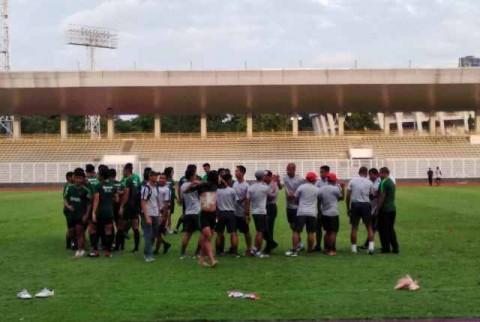 Timnas Indonesia U-23 Ditahan Imbang Semen Padang
