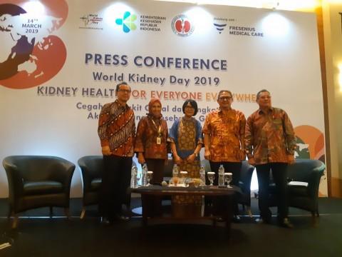 Penyakit Ginjal Kronis di Indonesia Kian Meningkat