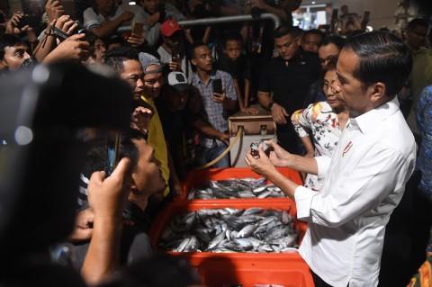 Jokowi Resmikan Pasar Ikan Muara Baru