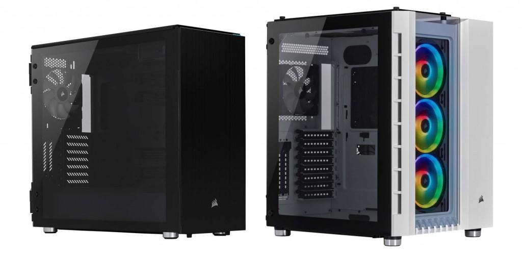 Corsair Carbide Series 678C dan Crystal Series 680 RGB.