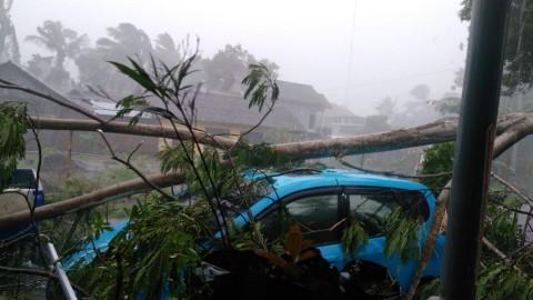 Badai Rusak Puluhan Rumah di Sleman