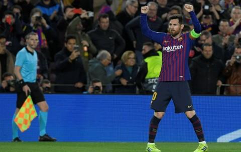 Pelatih Lyon: Messi Tunjukkan Permainan Kelas Dunia