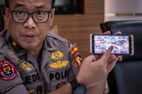Jaringan Teroris Lampung Tak Pernah Menetap