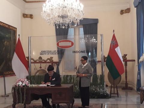 Oman Dukung Posisi Indonesia untuk Palestina
