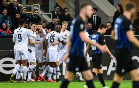 Dipermalukan Frankfurt, Inter Tersingkir dari Liga Europa