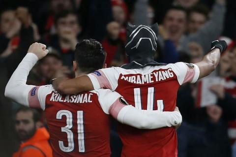 Arsenal Singkirkan Rennes dari Liga Europa