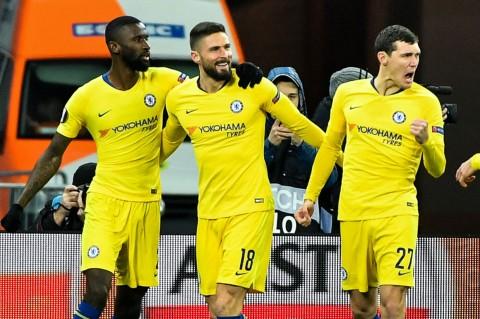 Lumat Kiev 5-0, Chelsea ke Perempat Final Liga Europa