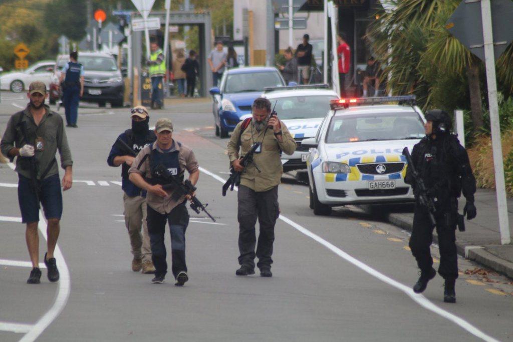 Selandia Baru Penembakan Picture: Empat Orang Ditangkap Terkait Penembakan Selandia Baru