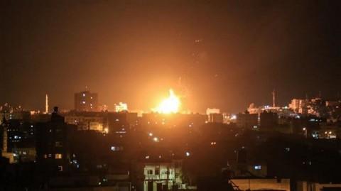 Israel Serang 100 Lokasi Hamas di Jalur Gaza