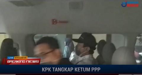 KPK Bawa Romahurmuziy Cs ke Jakarta