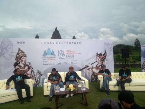 Yanni, Calum Scott hingga Anggun Jadi Penampil Utama Prambanan Jazz 2019