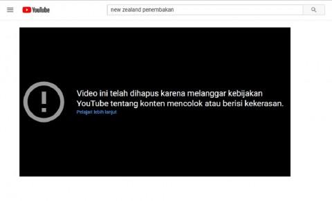 Facebook Buru dan Hapus Video Penembakan Masjid Selandia Baru