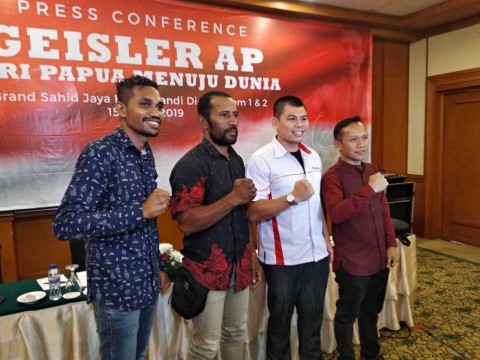 Petinju Papua Geisler AP Siap <i>Go Internasional</i>