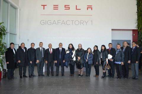 Berkunjung ke Tesla, Delegasi RI Jajaki Potensi Kerja Sama