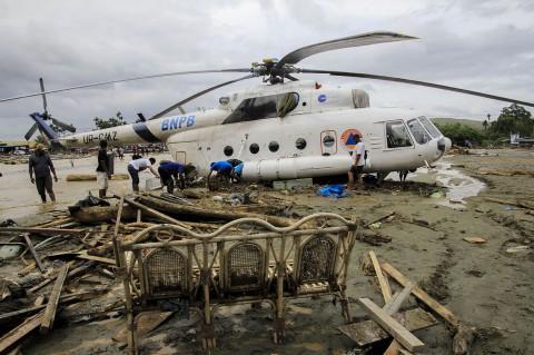 Foto Kondisi Sentani Usai Banjir Bandang