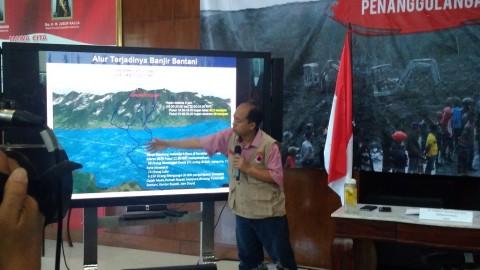 BNPB: Korban Banjir Bandang Jadi 58 Orang