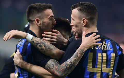 Gol Cepat Vecino Bawa Inter Ungguli Milan