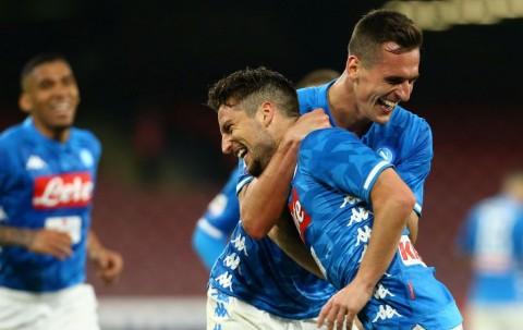 Hujan Gol, Napoli Permak Udinese