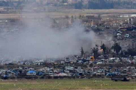 Ribuan Warga Diyakini Masih Berada di Markas Terakhir ISIS
