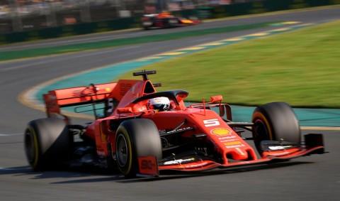 Vettel Akui Ferrari Tak Punya Kecepatan di GP Australia